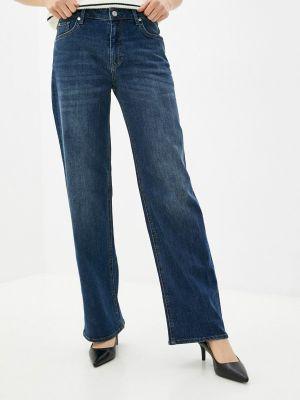 Широкие джинсы - синие S.oliver