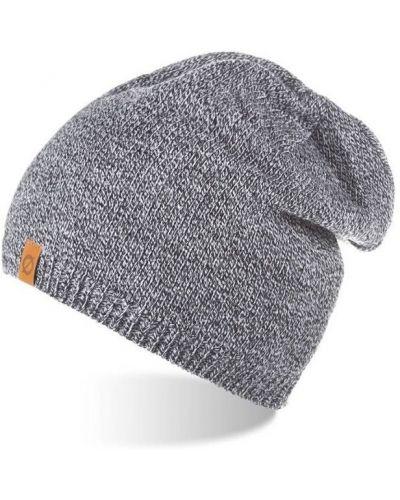 Ciepła czarna czapka z akrylu Merg