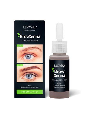 Краска для бровей, ресниц серый Browxenna