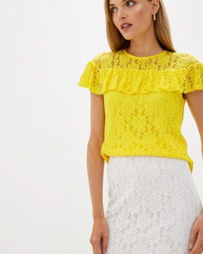 Блузка с рюшами желтый Blugirl Folies