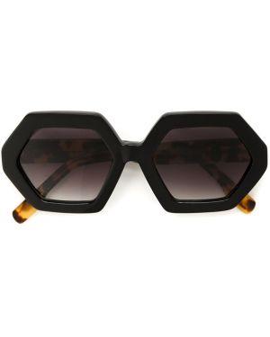 Муслиновые черные солнцезащитные очки Mara Mac
