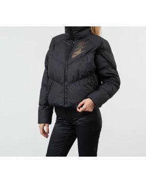 Спортивная куртка черная пуховый Nike