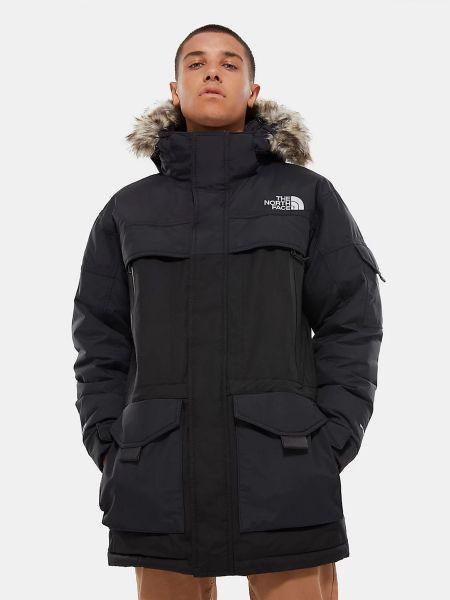 Флисовая куртка - черная The North Face