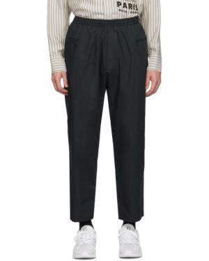 Ватные хлопковые брючные брюки с карманами Studio Nicholson