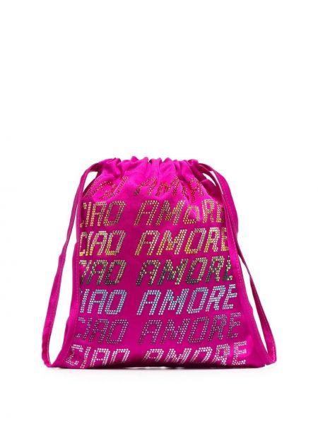 Różowa torebka Giada Benincasa