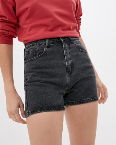 Джинсовые шорты - серые Sela