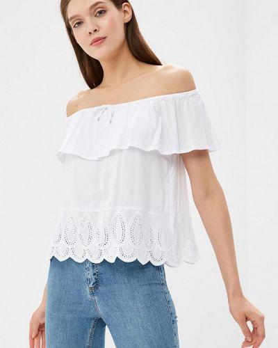 Белая блузка с открытыми плечами Top Secret