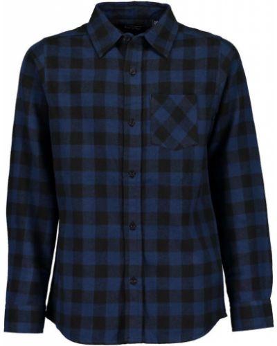 Рубашка с узором синий Blue Seven