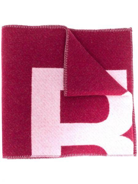 Różowy szalik wełniany Isabel Marant