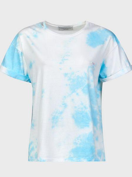 Хлопковая футболка - белая Forte Dei Marmi Couture