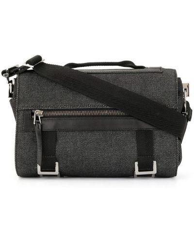 Маленькая сумка на плечо черная Gucci Vintage