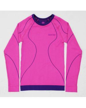 Нейлоновый футбольный розовый спортивный топ Hi-tec