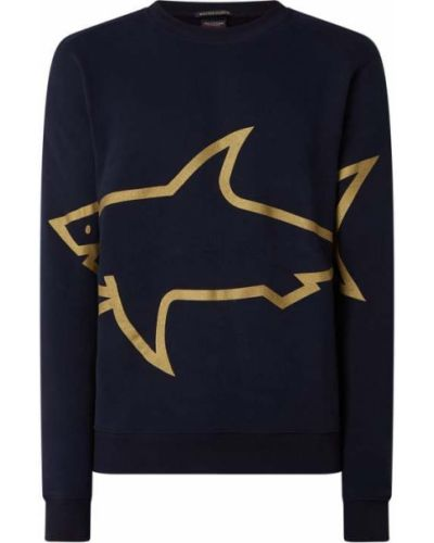 Niebieska bluza zimowa Paul & Shark