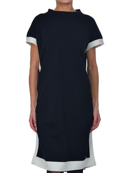 Акриловое платье - черное Cerruti 18crr81