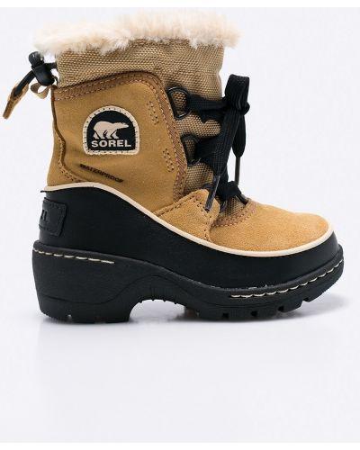 Ботинки теплые на шнуровке Sorel
