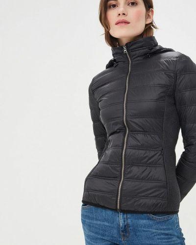 Зимняя куртка весенняя черная United Colors Of Benetton