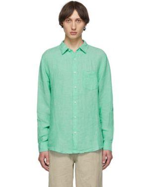 Koszula z długim rękawem długa zielony Onia