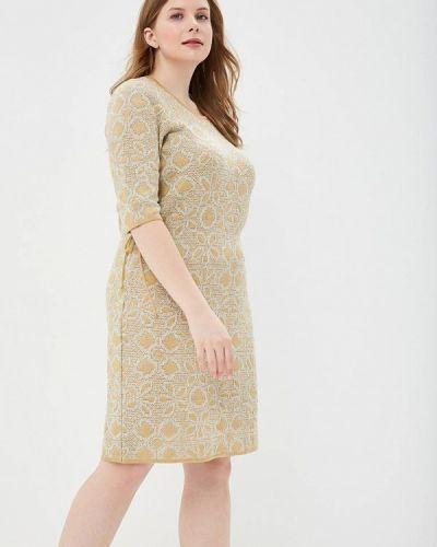 Платье весеннее бежевое Milana Style