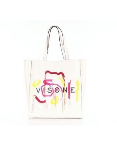 Biała torebka Visone