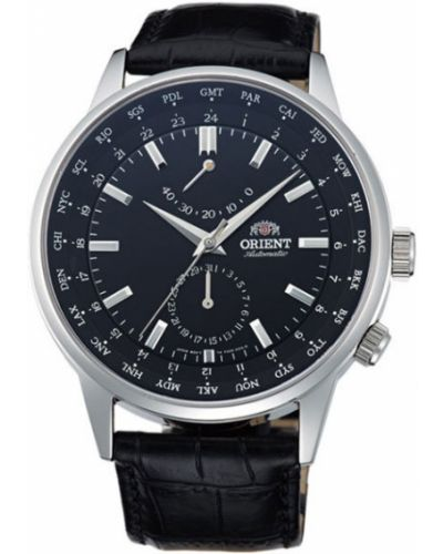 Часы водонепроницаемые механические с кожаным ремешком Orient