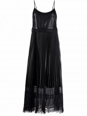 Кружевное платье - черное Twinset