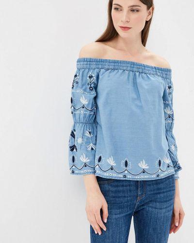 Блузка с открытыми плечами весенний Pepe Jeans