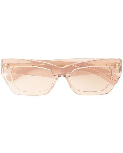 Солнцезащитные очки бежевые Pared Eyewear