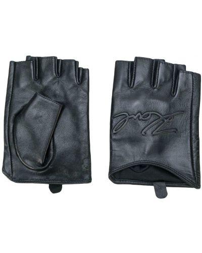 Кожаные перчатки Karl Lagerfeld