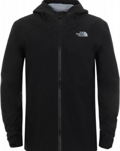 Куртка с капюшоном черная спортивная The North Face