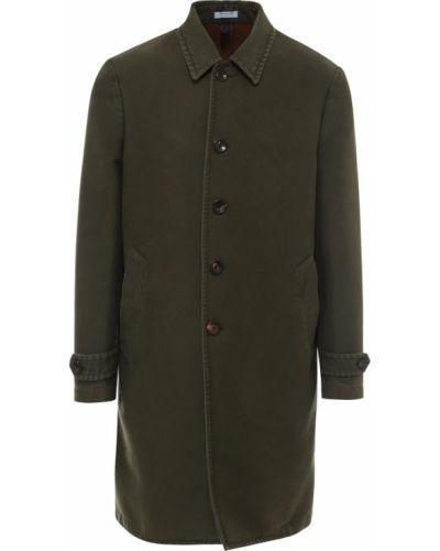 Zielony płaszcz Boglioli