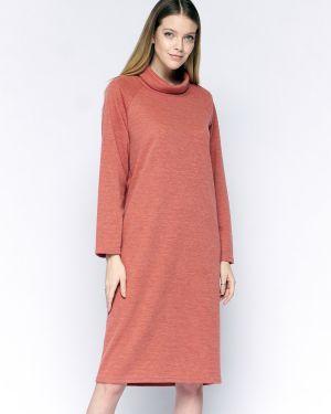 Свободное платье с длинными рукавами свободного кроя из ангоры Fiato