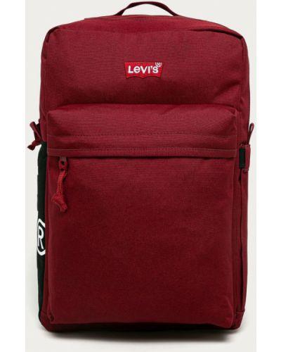 Czerwony plecak Levi's