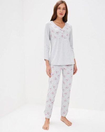 Пижама серая пижамный Лори