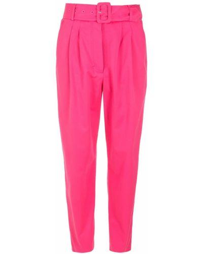 Розовые хлопковые брюки НК