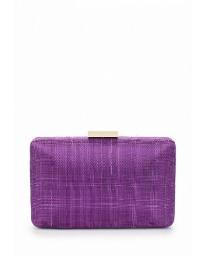 Фиолетовый клатч Olga Berg