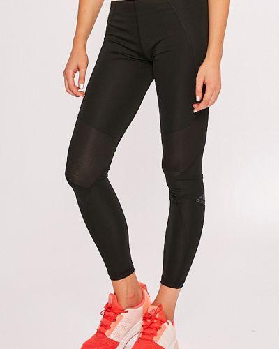 Черные зауженные брюки Adidas Performance