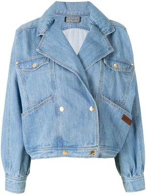Синяя джинсовая куртка Amapô