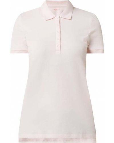 Różowy t-shirt bawełniany krótki rękaw Montego