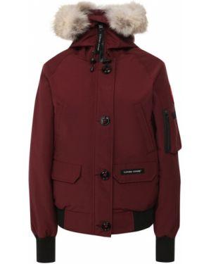 Куртка с капюшоном нейлоновая куртка-пилот Canada Goose