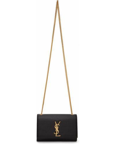 Czarny złoty łańcuszek Saint Laurent