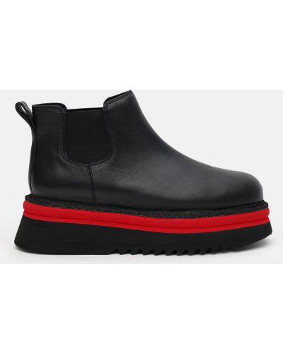 Ботинки челси - черные Sofia Baldi