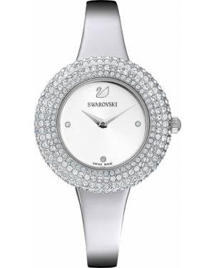 Часы - белые Swarovski