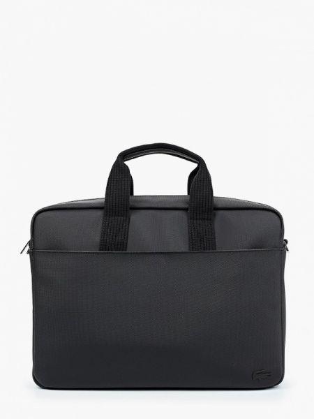 Черная сумка Lacoste
