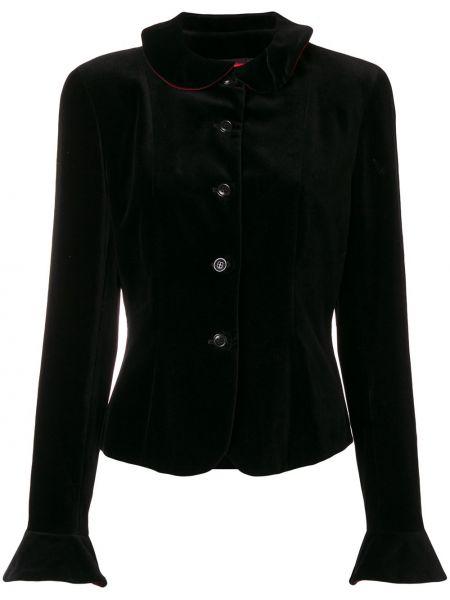 Черная куртка с манжетами Kenzo Pre-owned