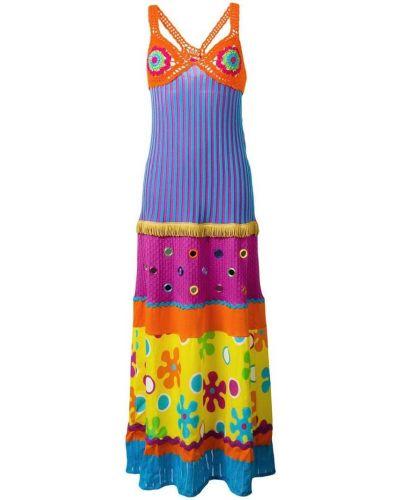 Платье платье-поло длинное Moschino