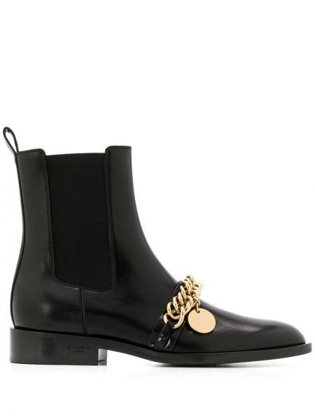 Kozaki chelsea czarne złoto Givenchy