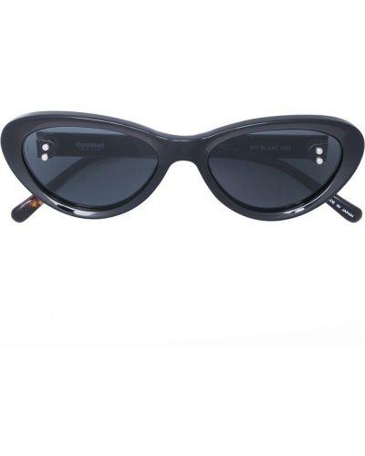 Czarne okulary Doublet