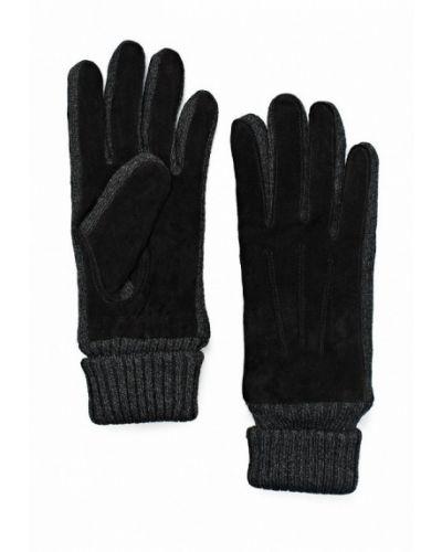 Перчатки черные серые Modo Gru