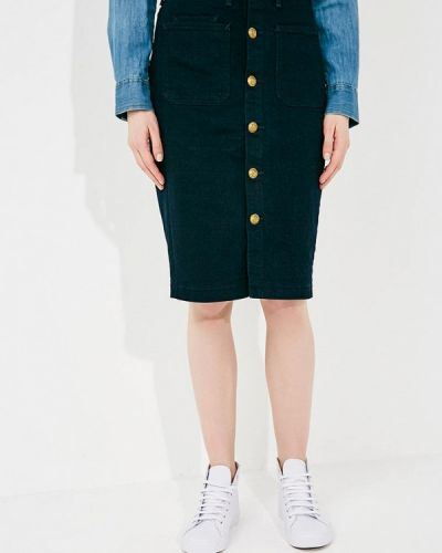 Джинсовая юбка облегающая 2018 Polo Ralph Lauren