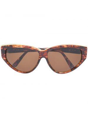 Прямые солнцезащитные очки металлические хаки Paco Rabanne Pre-owned